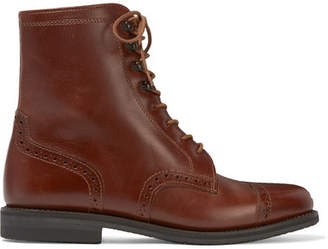 Ludwig Reiter Mary Vetsera Leather Ankle Boots - Brown