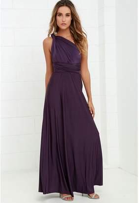 Manyis Women Evening Dress Convertible Multi Way Wrap Bridesmaid Formal Long Dresses S