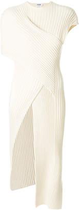 ribbed side slit tunic
