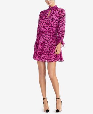 Rachel Roy Animal-Print Fit & Flare Dress