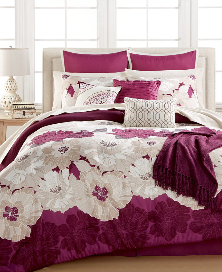 Jamie 14-Pc. Queen Comforter Set