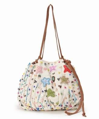 Journal Standard (ジャーナル スタンダード) - journal standard luxe 【IMAYIN/イマイン】 Cotton purse bag with beads