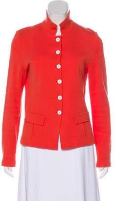 Amina Rubinacci Long Sleeve Knit Jacket