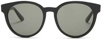 Saint Laurent Monogram round-frame acetate sunglasses