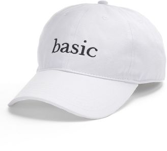 "Women's SO® Embroidered ""Basic"" Baseball Cap $22 thestylecure.com"