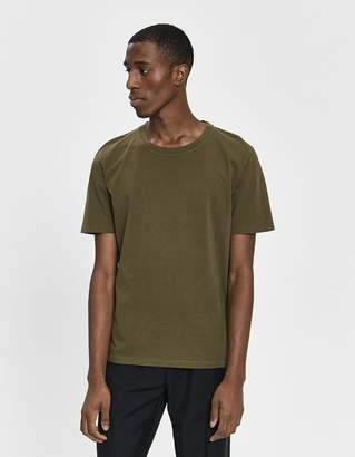 Maison Margiela Garment Dyed S/S Tee in Olive