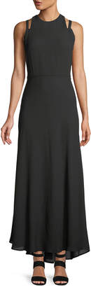 Taylor Cutout-Shoulder Maxi Dress