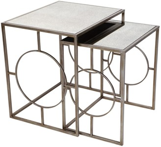 Cafe Lighting Melrose Nest Of Tables Set/2