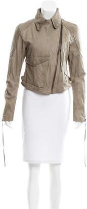 Diesel Leather Moto Jacket $145 thestylecure.com