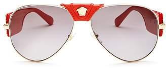 Versace Men's Aviator Sunglasses, 62mm
