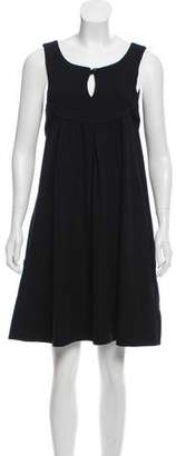 Marc by Marc Jacobs Wool Sleeveless Flare Dress