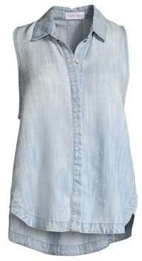 Bella Dahl Sleeveless Gusset Shirt