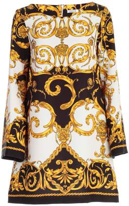 P.A.R.O.S.H. Baroque Print Dress