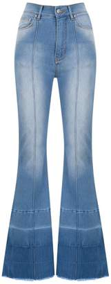 Amapô high rise flared jeans