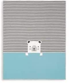 Elegant Baby Bear Cotton Blanket