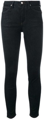 Calvin Klein Jeans super skinny cropped jeans $123.02 thestylecure.com