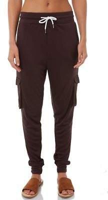 Swell New Women's Womens Pocket Lounge Pant Viscose Elastane Black