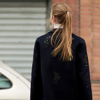 Sandro Long embroidered coat