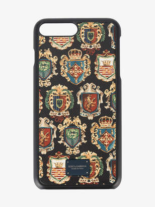 Dolce & Gabbana coat of arms print iPhone 7 case