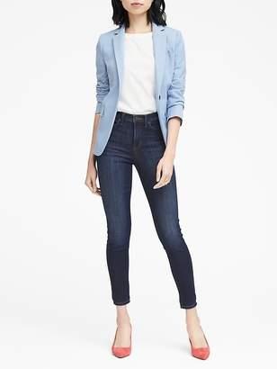 Banana Republic High-Rise Legging-Fit Medium Wash Ankle Jean