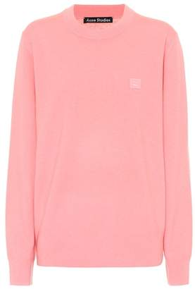 Acne Studios Nalon S Face wool sweater