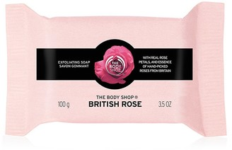 The Body Shop British Rose Exfoliating Soap