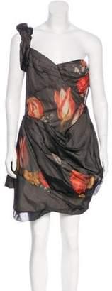 Miu Miu Silk Crepe Dress Black Silk Crepe Dress