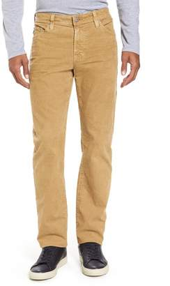 "AG Jeans Everett Straight Leg Corduroy Pants - 34"" Inseam"