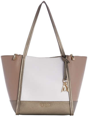 GUESS CB717623PML Heidi Double Handle Tote Bag