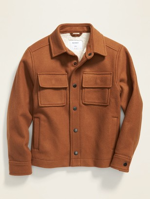Old Navy Soft-Brushed Shirt Jacket for Boys