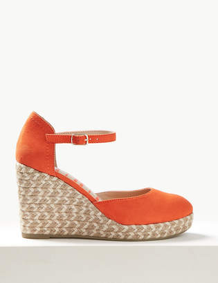 facdb7145a3 Marks and Spencer Wedge Heel Almond Toe Espadrilles