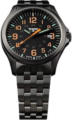 Traser P67 Officer Pro Orange Numerals PVD Stainless Steel Men's Watch 107870