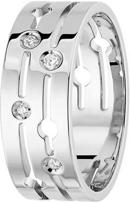Dinh Van Pulse Diamond 18k Gold Ring