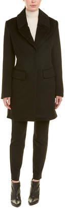 Badgley Mischka Valerie Wool-Blend Coat