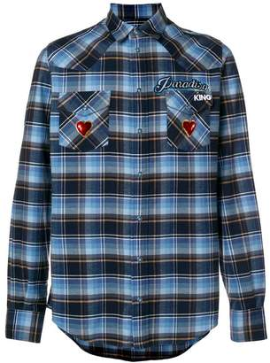 Dolce & Gabbana check shirt