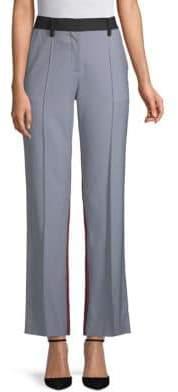 Valentino Colorblock Straight Pants