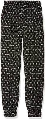 New Look 915 Girl's Foulard Bob WVN Jogger Trousers,(Manufacturer Size:146)