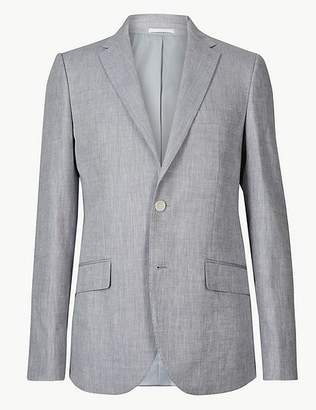 Marks and Spencer Tailored Fit Linen Miracle Jacket