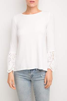 Generation Love Nola Eyelet-Lace Top
