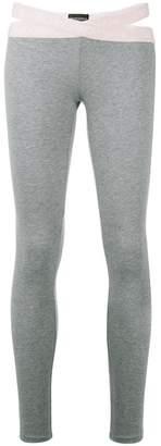 Emporio Armani slim fit leggings