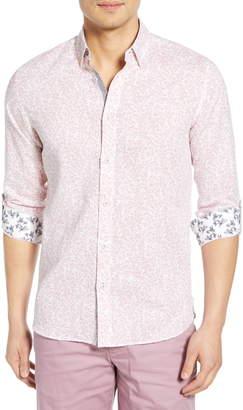 Ted Baker Leemar Slim Fit Floral Shirt