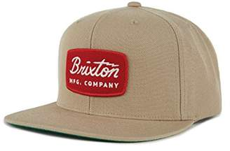 Brixton Men's JOLT Snapback Baseball Cap, Off White Black