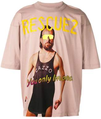 Vivienne Westwood Andreas Kronthaler For Rescue T-shirt