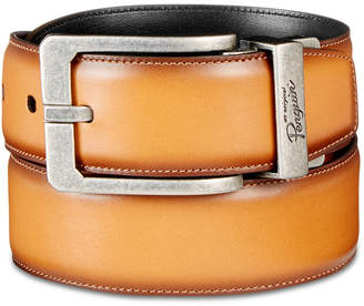 Original Penguin Men's Amigo Reversible Leather Belt