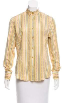 Etro Jacquard Button-Up
