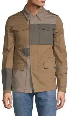 Valentino Colorblock Cotton Jacket