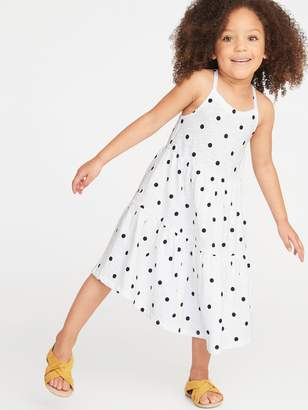 Old Navy Tiered Slub-Knit Swing Dress for Toddler Girls