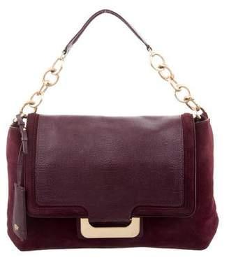 Diane von Furstenberg Leather Drew Connect Messenger Bag