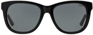 Ralph Lauren Striped Square Sunglasses