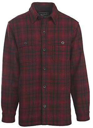 Woolrich Men's Wool Stag Shirt Jacket